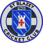 St Blazey Cricket Club club badge