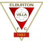Elburton Villa FC Junior club badge