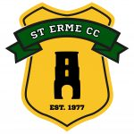 St Erme Cricket Club Junior club badge